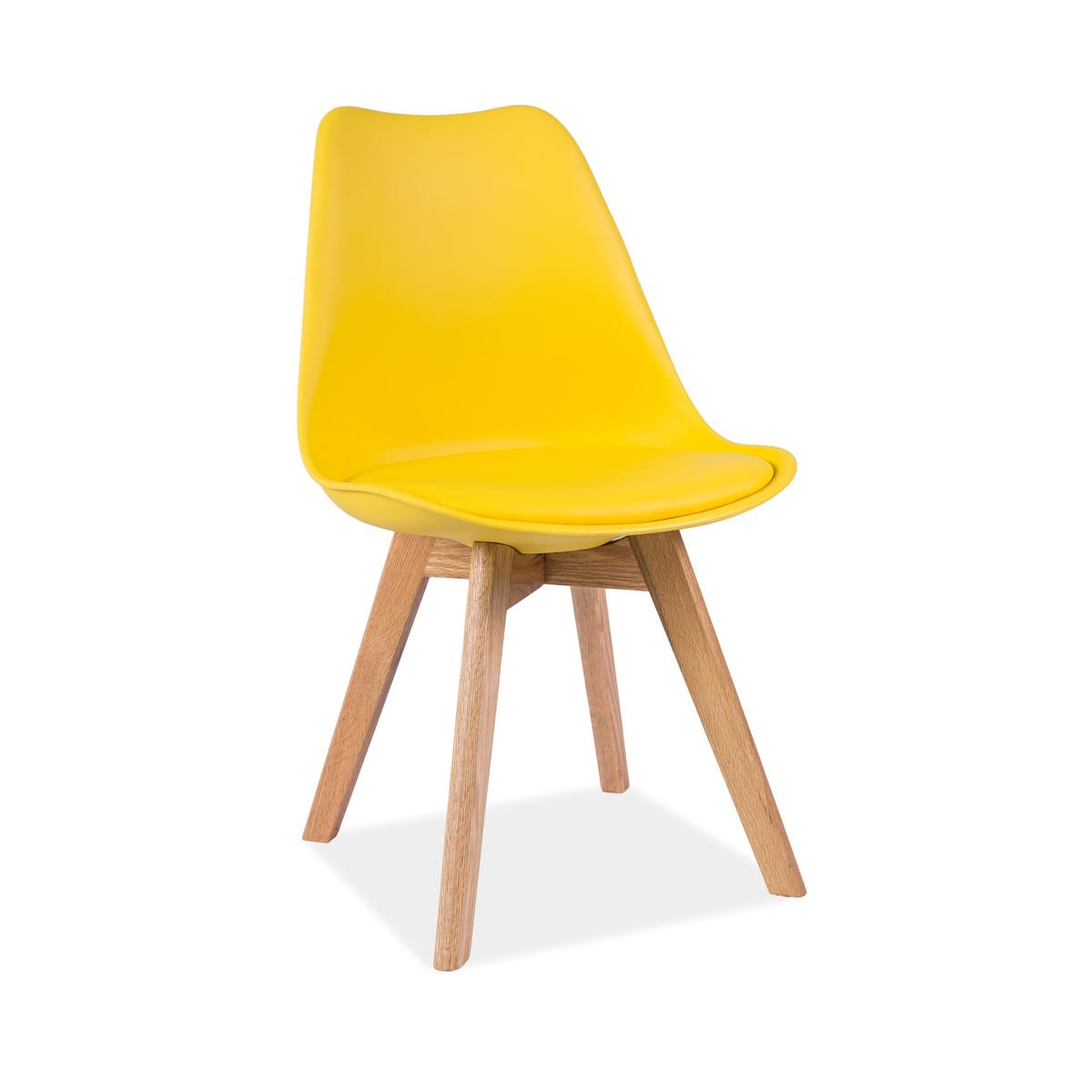 Stuhl Fenja Eiche gelb