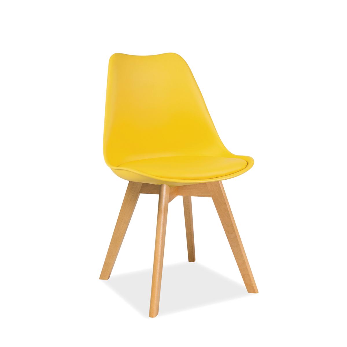 Stuhl Fenja Buche gelb