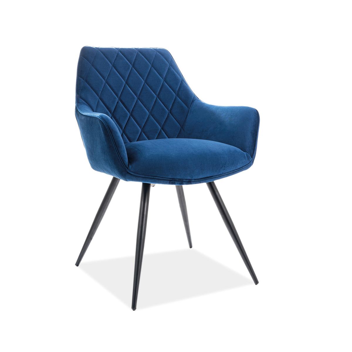 Stuhl Elina blau