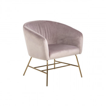 Sessel Cecile dusty rose