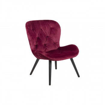 Sessel Giuliana bordeaux